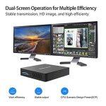 Z83-F Mini PC Desktop Processeur Intel Cherry Trail x5-z8350, RAM 4Go / eMMC 64 Go 1000M/LAN 2.4/5.8G WiFi Bluetooth 4.0, Dual Screen Display with Sorties VGA & HDMI, Fanless Intel Ordinateur de Bureau de la marque KODLIX image 1 produit