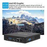 Z83-F Mini PC Desktop Processeur Intel Cherry Trail x5-z8350, RAM 4Go / eMMC 64 Go 1000M/LAN 2.4/5.8G WiFi Bluetooth 4.0, Dual Screen Display with Sorties VGA & HDMI, Fanless Intel Ordinateur de Bureau de la marque KODLIX image 4 produit